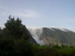 El mar de nubes de La Gomera