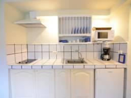 Suite Jardín - Cocina