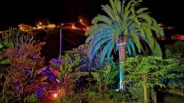 Restaurante Los Telares de noche